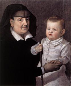 Cosimo II de' Medici with Governess
