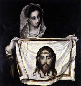 St Veronica Holding the Veil