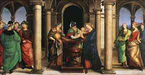 The Presentation in the Temple (Oddi altar, predella)