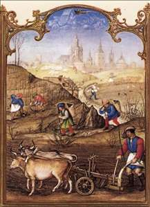 Grimani Breviary: The Month of March
