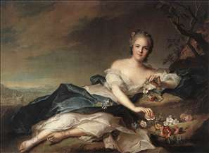 Marie Adelaide of France as Flora