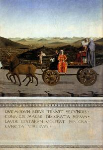 Triumph of Battista Sforza
