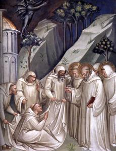 Stories from the Legend of St Benedict (detail)