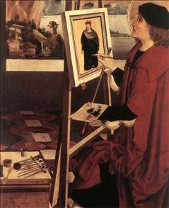 St Luke Painting the Madonna