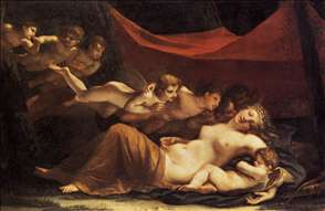 The Sleep of Venus and Cupid