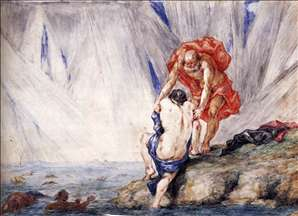 Scene from the Metamorphoses