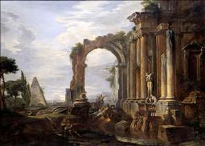 Capriccio of Classical Ruins