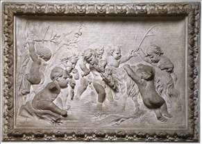 Bacchanalia of Putti