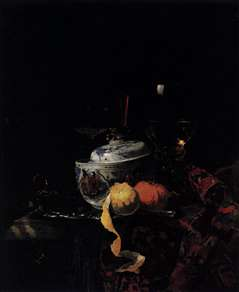 Still-Life with Chinese Porcelain Bowl
