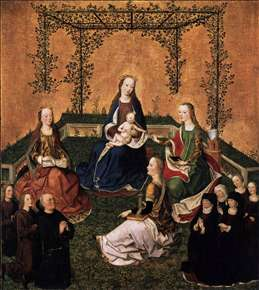 Virgin and Child with Three Saints