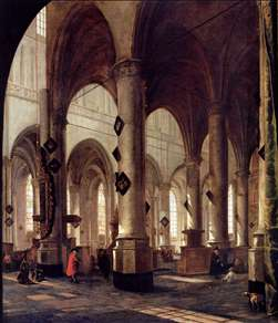 The Pieterskerk in Leiden