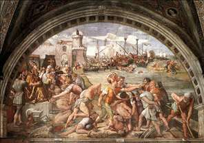 The Battle of Ostia