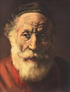 Portrait of an Old Man in Red