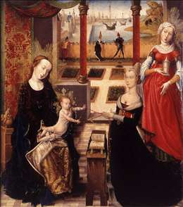 Madonna with Donor and St Mary Magdalene