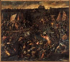 King Pippin's Army Trying to Reach Venice