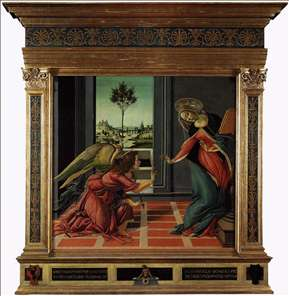 Cestello Annunciation (in frame)