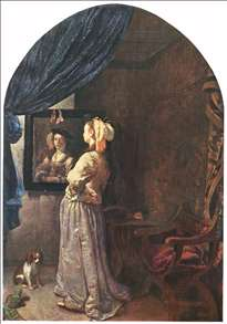 Woman before the Mirror
