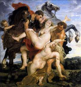 Rape of the Daughters of Leucippus