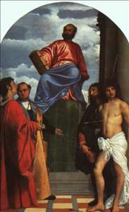 St. Mark Enthroned with Saints