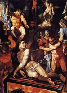Martyrdom of St Lawrence