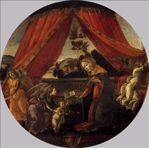 The Virgin and Child with Three Angels (Madonna del Padiglione)