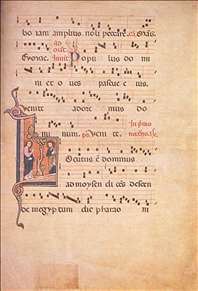Fragment of an Antiphonale