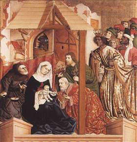 Th Adoration of the Magi