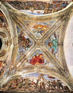 View of the Vaulting in the Strozzi Chapel