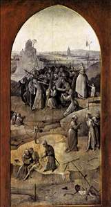 Triptych of Temptation of St Anthony (outer right wing)