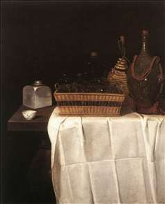 Still-Life with Glasses and Bottles