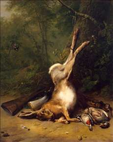 Still-Life with a Hare