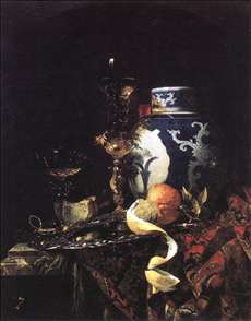 Still-Life with a Late Ming Ginger Jar