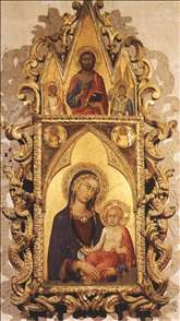Madonna and Child with Angels and the Saviour