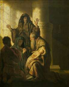 Simeon and Anna Recognize the Lord in Jesus