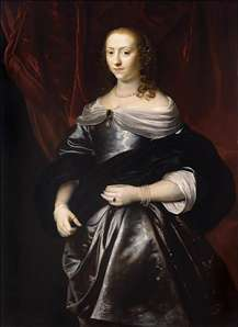 Portrait of Lucretia Boudaen