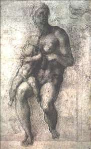 Study for a Madonna and Child