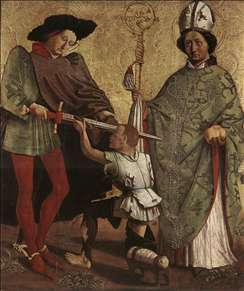 St Martin of Tours and St Nicholas of Bari