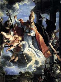 The Triumph of St Augustine