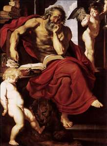 St Jerome in His Hermitage