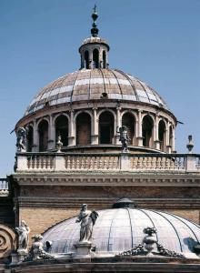 View of the dome