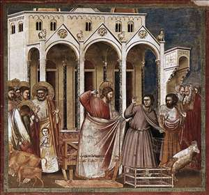 No. 27 Scenes from the Life of Christ: 11. Expulsion of the Money-changers from the Temple