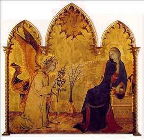 The Annunciation and the Two Saints
