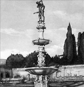 Fountain of Hercules and Anteus