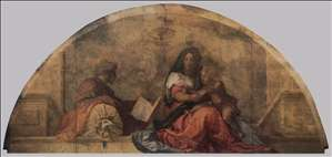 Madonna del sacco (Madonna with the Sack)