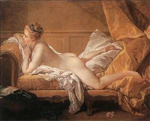 Girl Reclining (Louise O'Murphy)