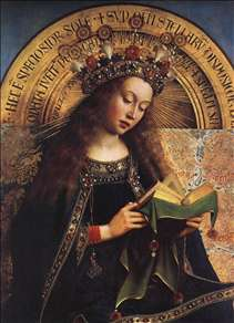 The Ghent Altarpiece: Virgin Mary