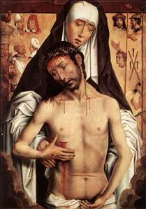 The Virgin Showing the Man of Sorrows