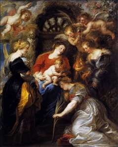 The Crowning of St Catherine