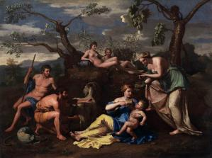 Nymphs Feeding the Child Jupiter