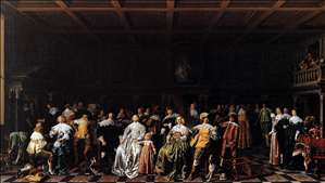 The Marriage of Willem van Loon and Margaretha Bas